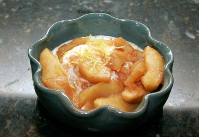 This recipe for crockpot fried apples makes a delicious side dish for breakfast or any meal. Fried apples recipe includes granny smith apples, cinnamon, nutmeg, butter, and sugar.