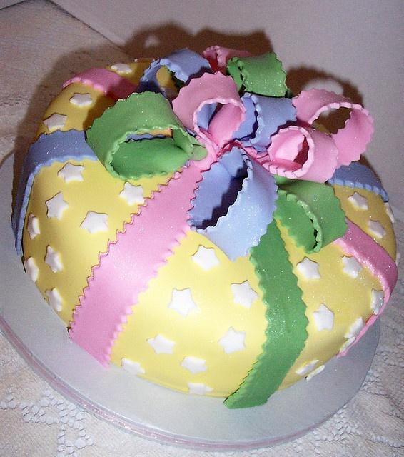 cute cake - baby shower