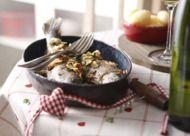 Recept: forel met amandelen v