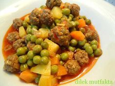 Köfteli Bezelye Yemeği Tarifi | Yemek Tarifleri Sitesi | Oktay Usta, Pratik Yemekler