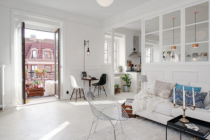 skandynawski salon