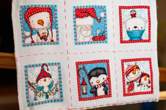 Frosty Friends Christmas Ornaments - Dimensions