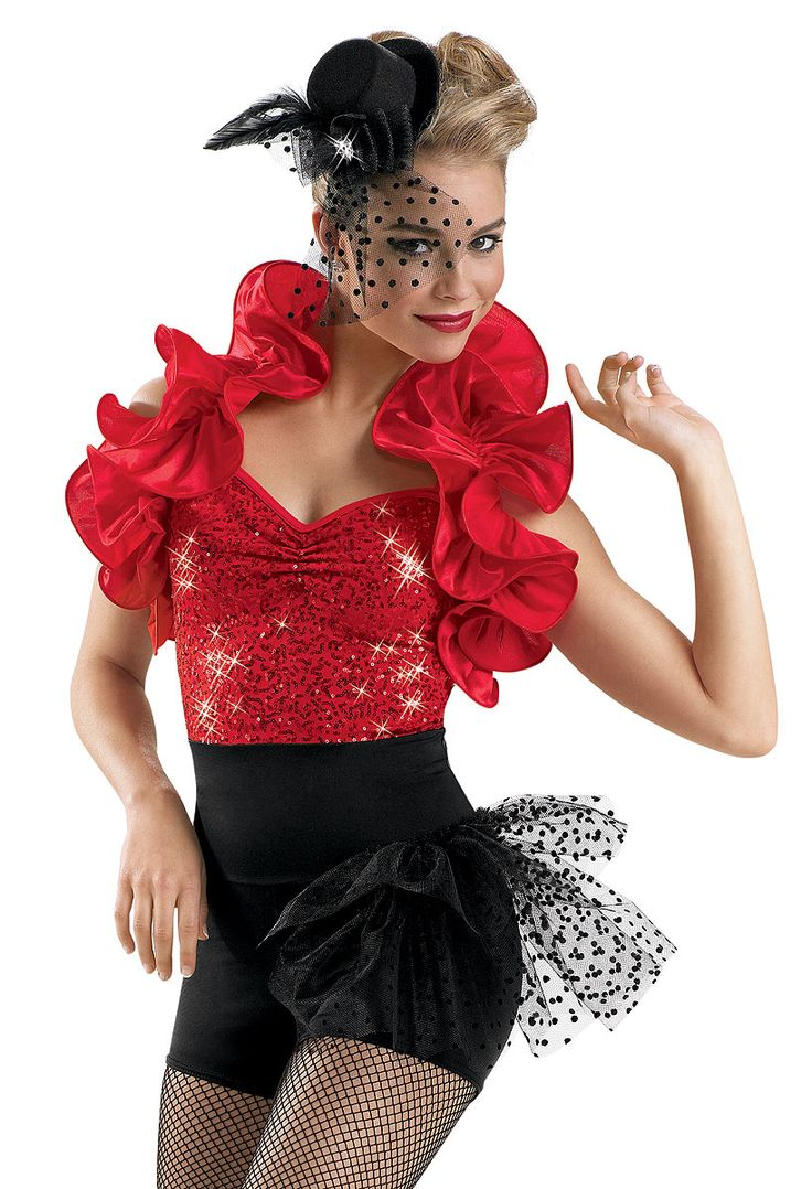 This would be a cute dance costumes for jazz or tap and this was in my dance recital this year