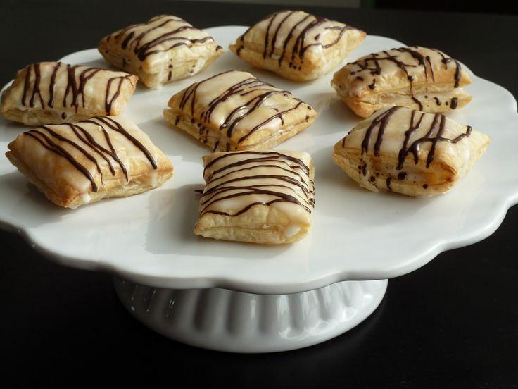Felis Kochecke: Rezepte: Blätterteig-Pudding-Happen