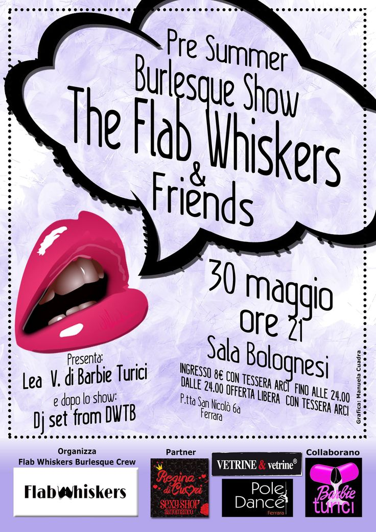 2015_05_30 - The FLAB WHISKERS - Pre-Summer Show - Ferrara   Performance as a Guest