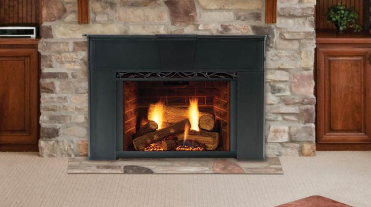 Gas Fireplace Inserts Are Designed For Installation In Your Existing Fireplace Cavity To