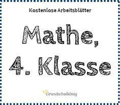 66 besten Mathe Bilder auf Pinterest | Grundschulen, Montessori und ...