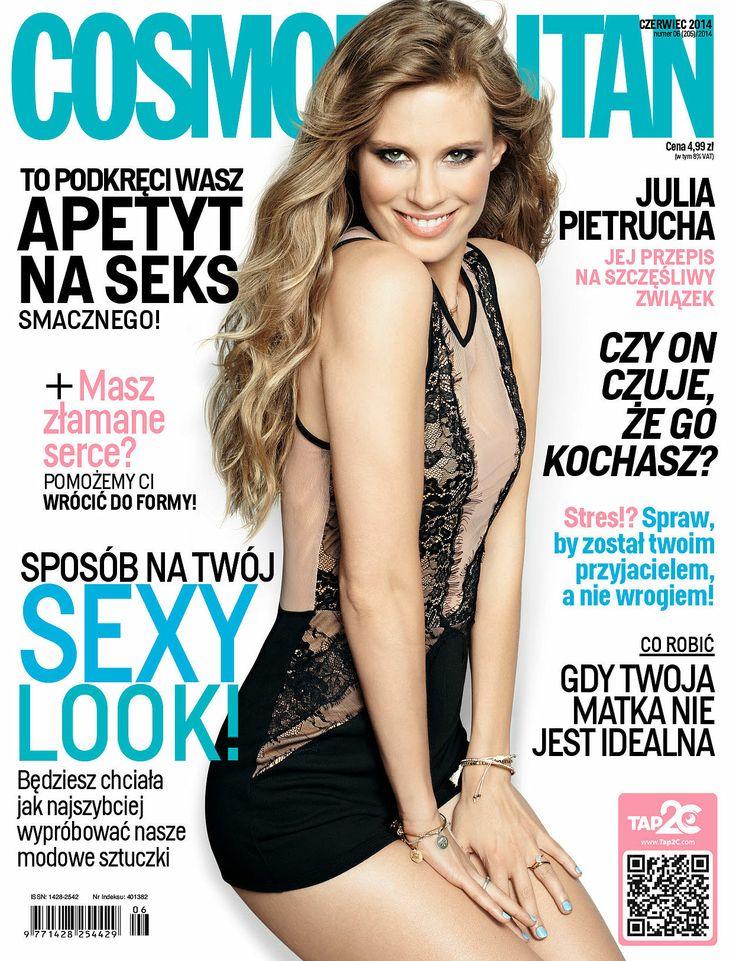 COSMOPOLITAN edycja polska / Julia Pietrucha / czerwiec 2014 www.cosmopolitan.pl
