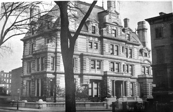 Henry H. Cook's 1880 massive stone mansion at 78th Street and Fifth Avenue was replaced in 1912 by the James B. Duke house.