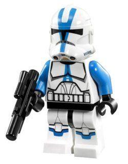 Lego Star Wars 501st Legion Clone Trooper Minifigure by Lego. $14.59. Lego rare figure