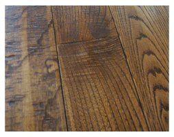 Pavimento in legno massello di castagno nazionale Italiano piallato a mano