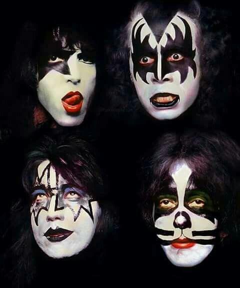 Los rostros de los monstruos del rock