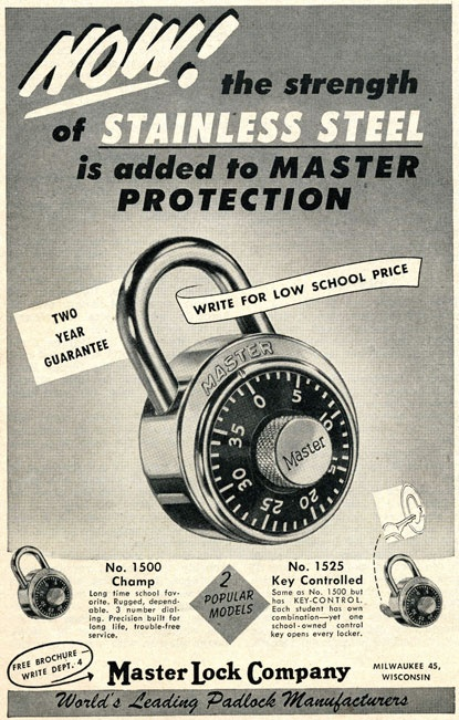 1000 Images About Master Lock Print Ads On Pinterest On