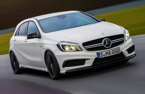 Mercedes hatchback
