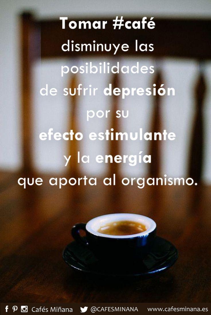 """Según un estudio publicado en """"Archives of Internal Medicine"""", tomar de 2 a 3 tazas de #café diarias reduciría el riesgo a padecer depresión. Esto es debido a que la cafeína influye en la liberación de ciertos neurotransmisores como la #dopamina y la #serotonina, íntimamente ligados con el estado de ánimo.  #CafésMiñana #coffee #depresión #efectoestimulante #LaTienda #ComprarCafe #cafearabica #cafeartesano"""