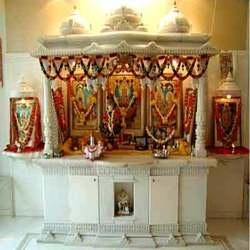 Pooja Room Design Home Mandir Lamps Doors Vastu Idols Placement