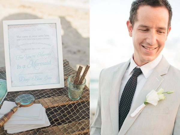 Mermaid Beach Elopement Mermaid Beach Elopement  Flowers by Millie V's photos by Chelsey Boatwright featured on Ruffled