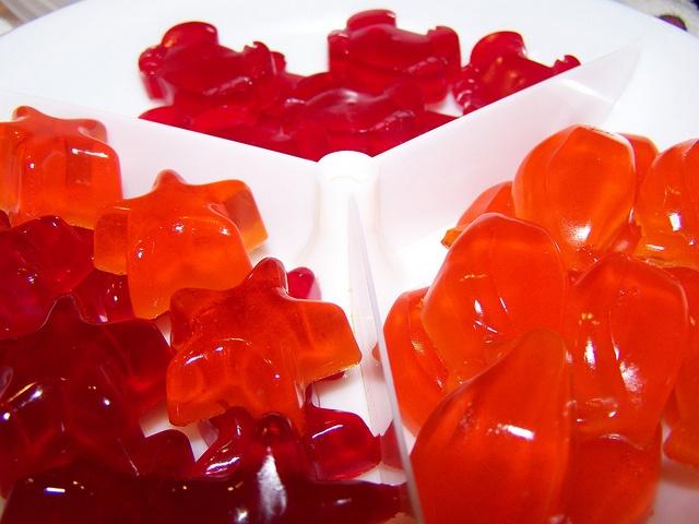 Homemade Gummi Bear/Candy