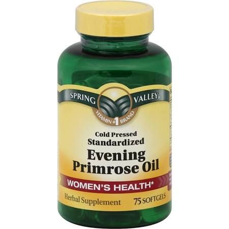 Evening primrose oil acne