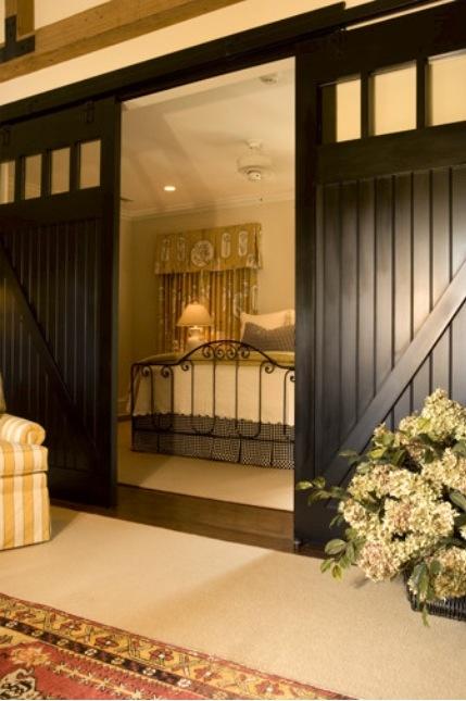 Obsession: BARN DOORS #barndoors #homedecor #brown
