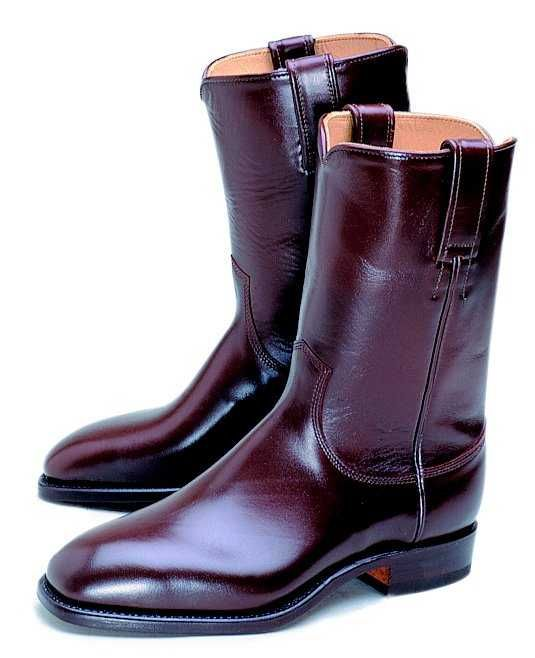 R.M. Williams High Top Boots. I think I like them. I love the colour