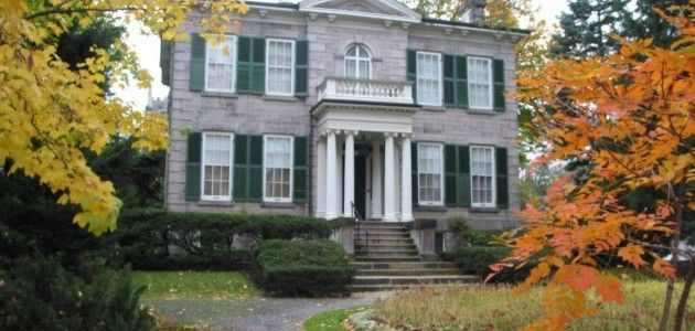 Whitehern was the residence of the McQueston family.  It has a beautiful garden that is always open to the public and is the perfect spot for a picnic right in downtown Hamilton.