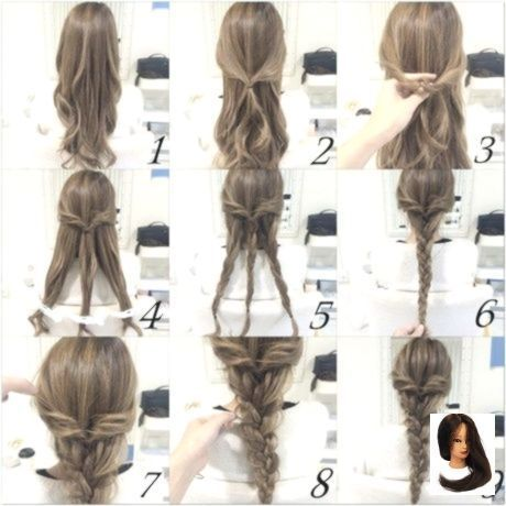 Coiffures simples pour les cheveux très longs, #EasyHairstyleswithlaylayers #Simple #Hairstyles #f ... - #cheveu
