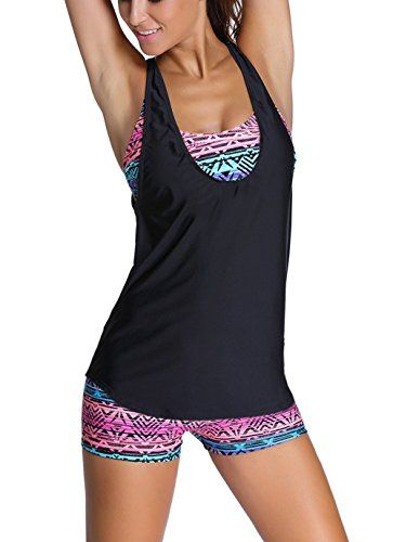Sidefeel Women Tribal Printed Tankini With Boyshort Swims... https://www.amazon.com/dp/B01FH9F0G2/ref=cm_sw_r_pi_dp_a11Axb2RVYHEQ
