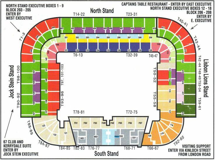 Celtic Park Seating Plan Appendix P Concept And Design