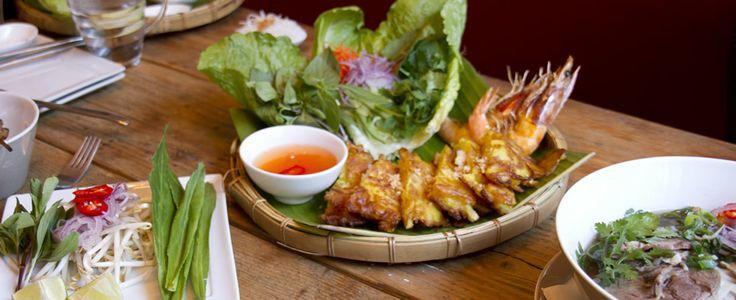 Authentiek Vietnamees eten…jammie!
