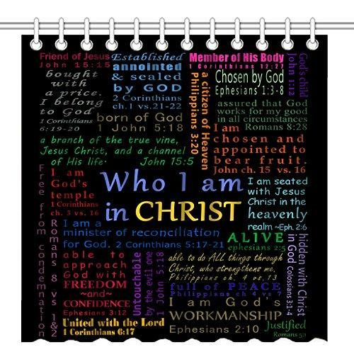 Scripture Shower Curtain Products Bathroom Shower Curtains Bathroom Bath Bathroom Inspiration