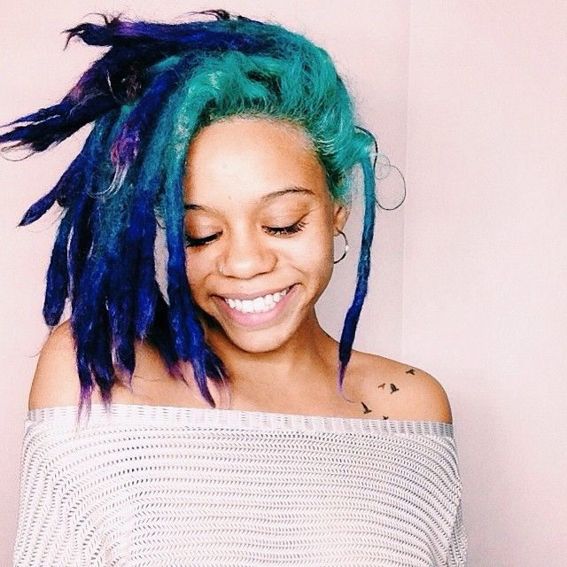 Best 25+ Colored dreads ideas on Pinterest | Red dreads, Hippie ...