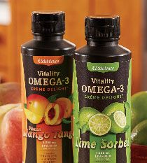 Get your omega-3s in an unexpected form: Delicious!! Melaleuca Vitality Omega-3 Creme Delight