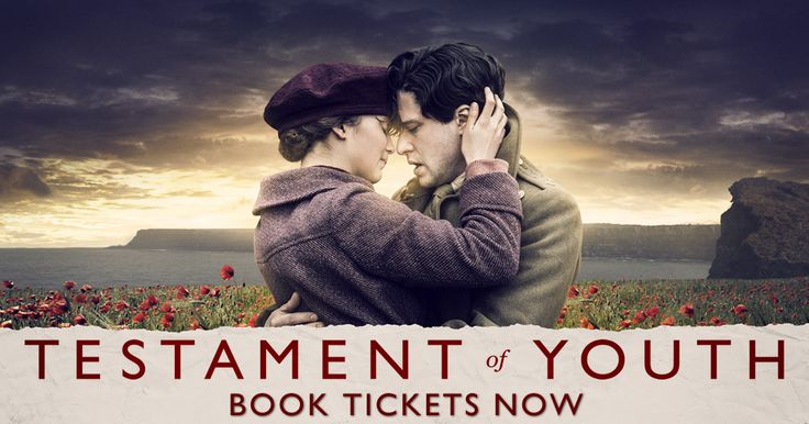 Search for screenings / showtimes and book tickets for Testament of Youth. See the release date and trailer. The Official Showtimes Destination brought to you by Lions Gate UK Ltd