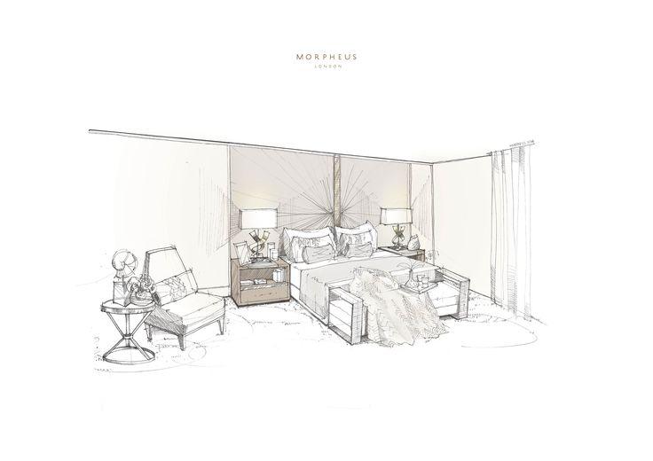 Guest Bedroom, St James Penthouse - Morpheus London