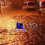 Fuertes precipitaciones en Tinogasta