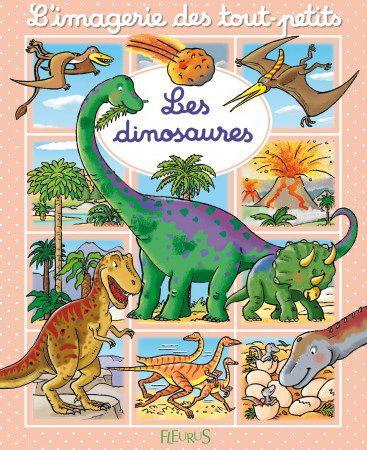 De grandes scènes, des gros plans et des textes courts pour découvrir les dinosaures.