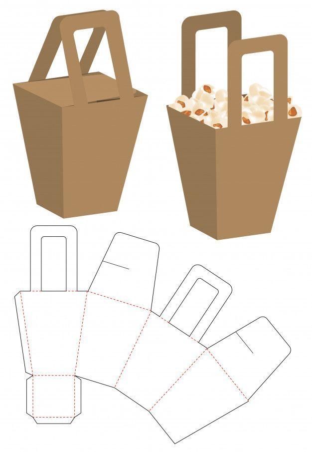 Box packaging die cut template design – #Box #cut …