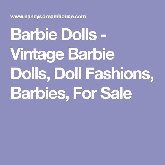 Barbie Dolls - Vintage Barbie Dolls, Doll Fashions, Barbies, For Sale