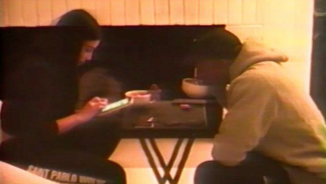 Kim Kardashian shuts down divorce rumors with sweet family video of domestic bliss. Kim showed off Kayne West's fathering skills taking care of their children North and Saint.