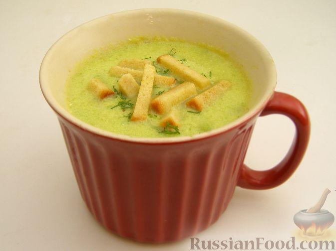 Фото приготовления рецепта: Пряный крем-суп из кабачков - шаг №7