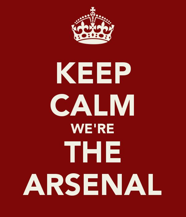 Keep Calm We're The Arsenal