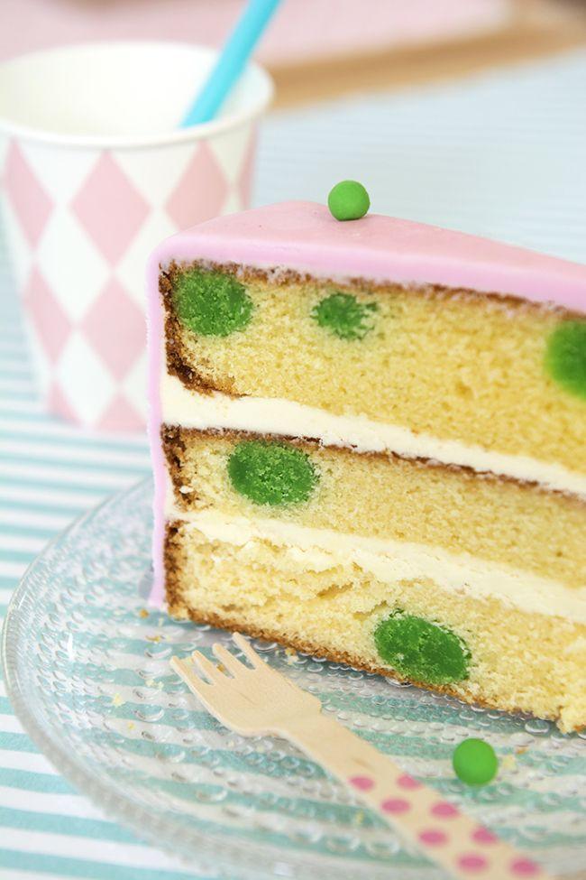 Princess and the Pea birthday cake