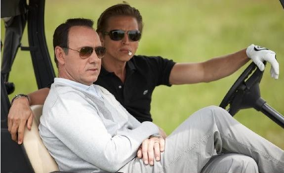 Kevin Spacey and Barry Pepper