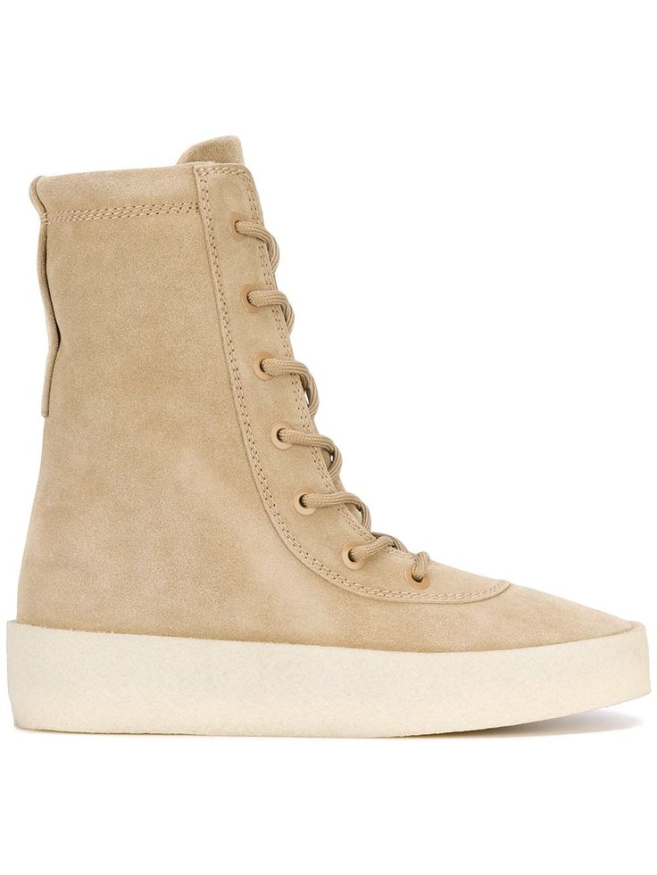 YEEZY CREPE BOOTS TAUPE. #yeezy #shoes #