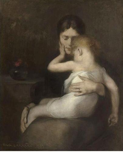 오르세 미술관전, 와젠 카리에르, 아픈아이