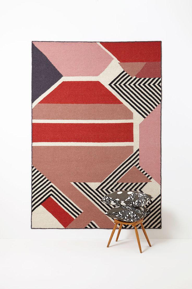 Tapis Harmonie rubis #mapoésie #design #rug #decoration
