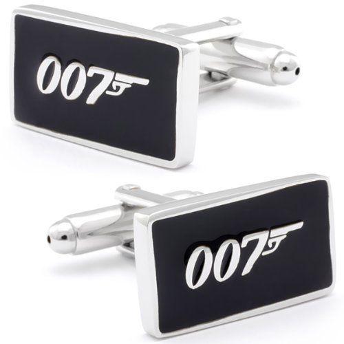 Black Bond 007 Sign Cufflinks CL-CH-170181 Fine Men's Jewelry. $19.95