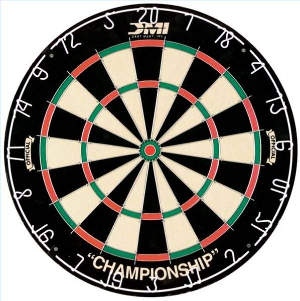 How to Hang a Bristle Dartboard at Regulation Height and Distance ...