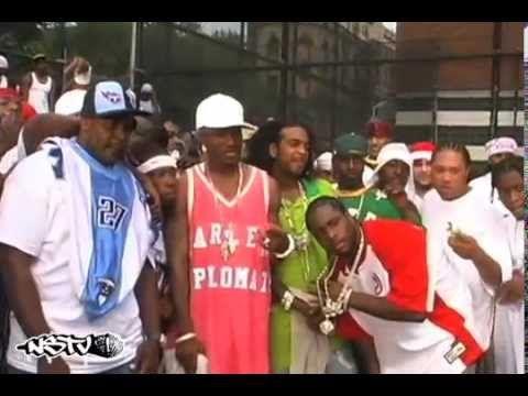 Cam'ron, Jim Jones, Master P - Bout It Remix Video Shoot - YouTube